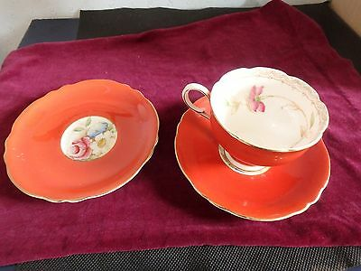 Paragon Enlish Vintage Bone China By Appoint To H.m. Queen Mary, 3 Piece Tea Set