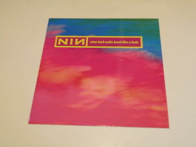 "Nine Inch Nails - Head Like A Hole - 12"" Made In Uk 1990 Island Records - 45 Rpm"
