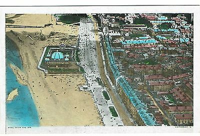 Rhyl From The Air Hand Coloured 1930's