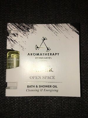 AROMATHERAPY ASSOCIATES Open Space Bath & Shower Oil 3ml travel size NEW
