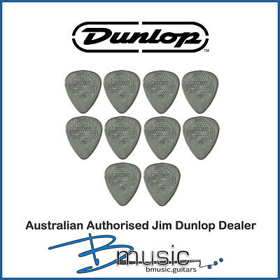 10 x Jim Dunlop .73mm Max-Grip™ Nylon Standard Plectrums