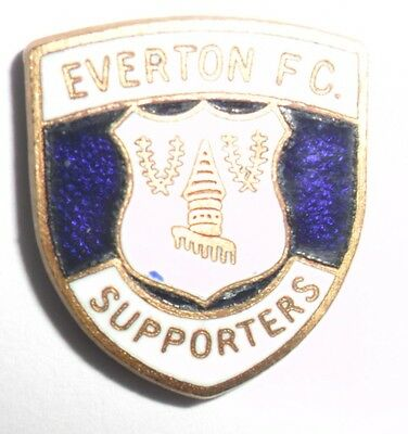 Old  Everton  Football  Club  Supporters  Enamel  Badge