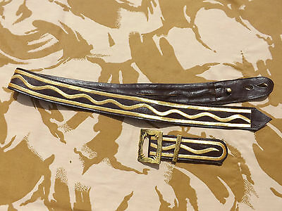 Repro British Royal Engineers Officers Full dress Cross Belt Large size