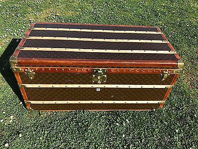 Louis Vuitton Old Trunk Malle  1900 Good Condition