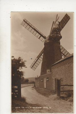 The Windmill At Polegate 12376 Judges Sussex 1937 Postcard