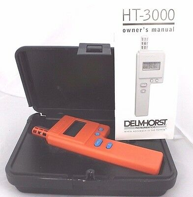 Delmhorst Thermo-Hygrometer HT-3000, 4-1A
