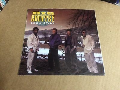 """Big Country Look Away  Pic Sleeve Only No Record  7"""" E"""