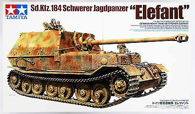 "Tamiya 35325 German Tank Destroyer"" Elefant"" 1/35 scale kit"