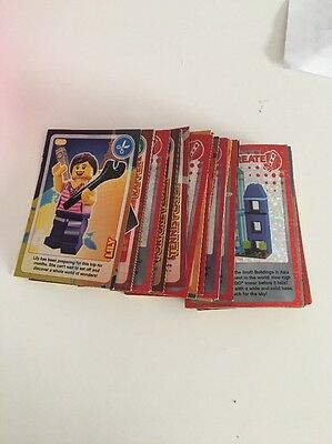 Create The World Lego Sainsburys Trading Cards x 51 ALL LISTED - NO DOUBLES