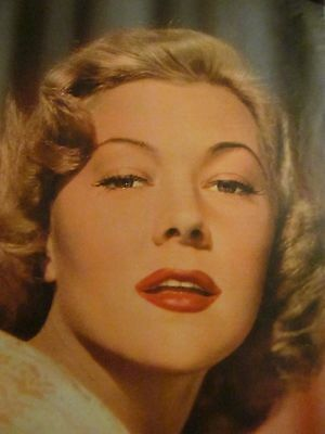 Gloria Grahame, Full Page Vintage Pinup