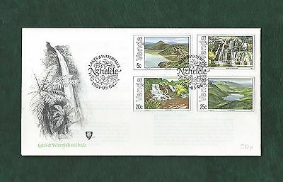 Venda South Africa 1981 Lakes and Waterfalls set on unaddressed illustrated FDC