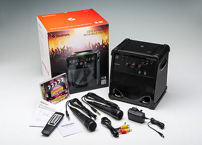 XXB16CDGBT Karaoke System with Bluetooth Streaming