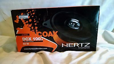 Hertz Dieci DCX 100.3 2- Way Coaxial car stereo speaker system