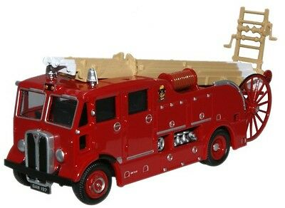Bnib Oo Gauge Oxford 1:76 76Reg005 West Ham Aec Regent Fire Engine