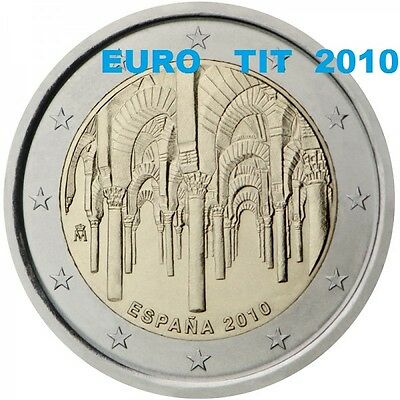 2 €  ESPAGNE COMMEMORATIVE 2010  1 X  PIECE  CENTRE  DE  CORDOUE  /   disponible