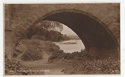The Wye from Wilton Bridge, Ross, Judges 3432 Postcard, A873