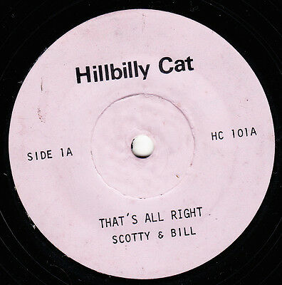 Scotty & Bill *that's All Right/ My Baby's Gone* 1971  Repro  Elvis Vocals