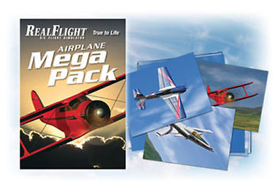 Great Planes Airplane Mega Pack für Real Flight GPMZ4160