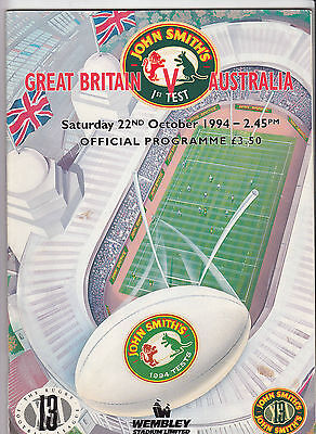 Great Britain v Australia 1994 1st Test @ Wembley