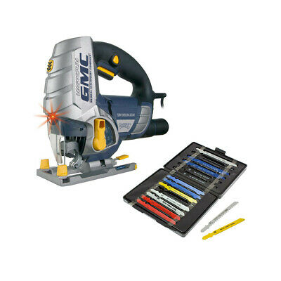 Gmc Ljs750 Pendulum Action Jigsaw With Laser Guide 750W + 16 Assorted Blades