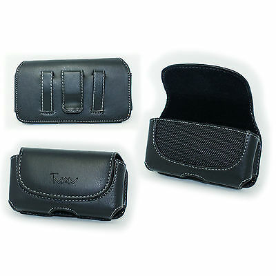 Case Pouch Belt Holster with Clip/Loop for Virgin Mobile Samsung Entro SPH-M270
