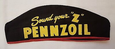 Vintage PENNZOIL Hat Mechanic Gas Station Attendant Cap - NEW, Old Stock
