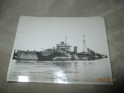 Ww11 British Navy Light Cruiser Photo