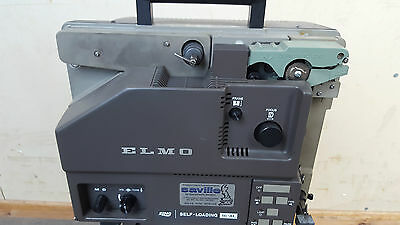 Vintage Elmo 16-Al 16Mm Film / Movie Projector