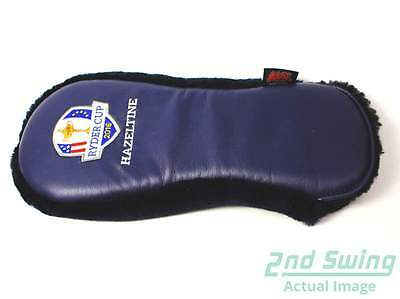 New AM&E Hazeltine Pro Shop Exclusive Ryder Cup 2016 Navy Blue Driver Headcover