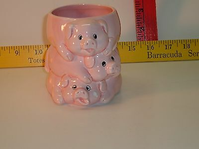 Vintage Cute Three Little Pig Cup