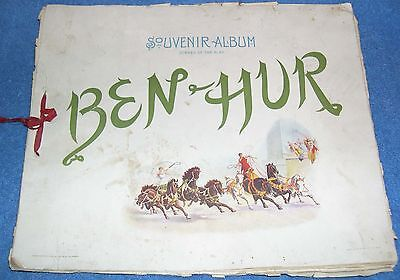 1900  Souvenir Album of Scenes From the Play BEN HUR by Klaw and Erlanger