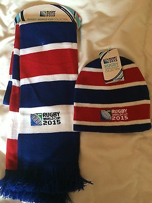 Official Rugby World Cup 2015 Scarf And Beannie Cantebury Make