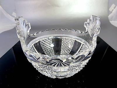 WATERFORD CRYSTAL Master Cutter 'HIBERNIA' Butter Cooler/ Candy Dish