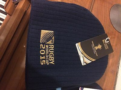 2 beanie Hats Rugby World Cup 2015 Brand New