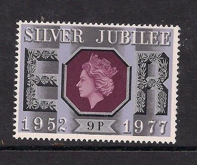 GB 1977 QE2 9p Silver Jubilee Umm stamp SG 1034 ( 585 )