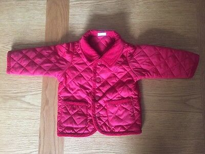 Baby Benetton Barbour Style Jacket Age 3-6 Months