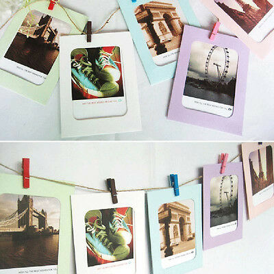 6 Inch Creative Gift DIY Wall Hanging Paper Photo Frame Wall Picture Album