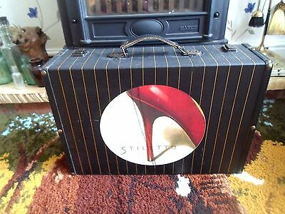 RETRO STYLE Suitcase Ideal for  Display - Stage Prop - Wedding Cards