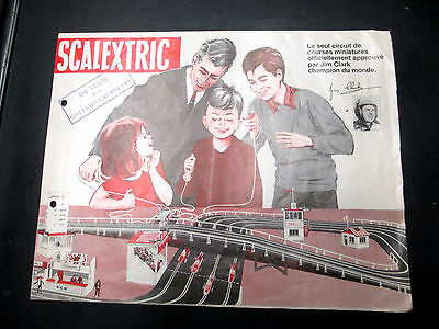 SCALETRIX GALERIES LAFAYETTE VINTAGE 60s 54X104cm HUGE FRENCH POSTER - CATALOGUE