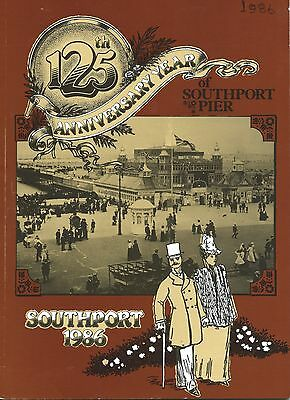 SOUTHPORT Lancashire 1986 Official Holiday Guide illustrated & adverts