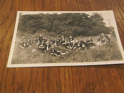 Vintage Real Photo Postcard Of Girl Guides Group West Norwood Photography