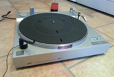 JVC L-E3 Turntable Fully Automatic Direct Drive Linear Tracking Made in Japan