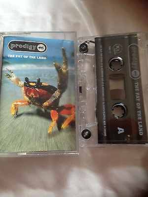 Prodigy - The Fat Of The Land - Tape Cassette Album