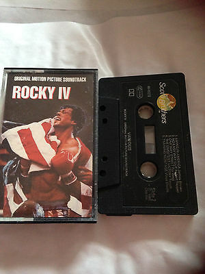 Rocky 4 - Original Motion Picture Soundtrack - Tape Cassette Album