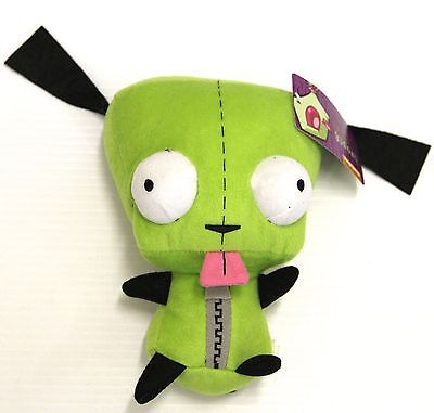 "9"" Nickelodeon Alien Invader Zim Plush GIR Doll New with tags stuffed animal toy"
