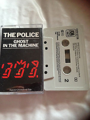 The Police - Ghost In The Machine - Tape Cassette Album