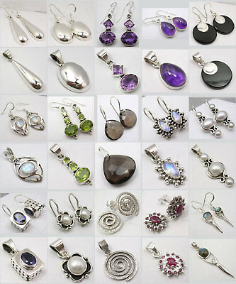 Wholesale Lot! Sterling Silver Jewelry! 15 Lovely Sets!