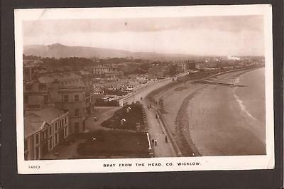 Bray from The Head, Co.Wicklow. RP. 1911.