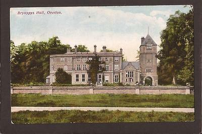 Country Houses. Bryn-Y-Pys Hall. Overton-on-Dee. 1910. Gwenfro Series.