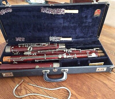 Vintage Conn Bassoon #8239 Made In Germany In Original Hardshell Case